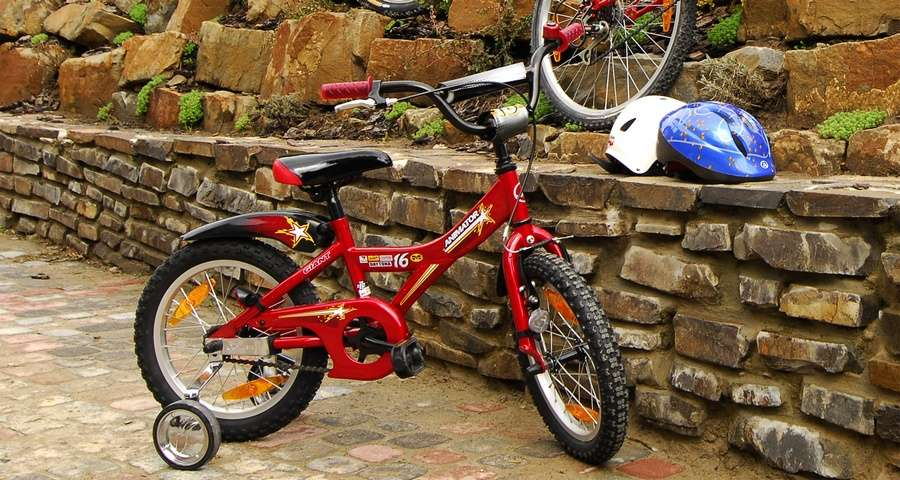 Children's bicycles, activities for children in the Carpathians