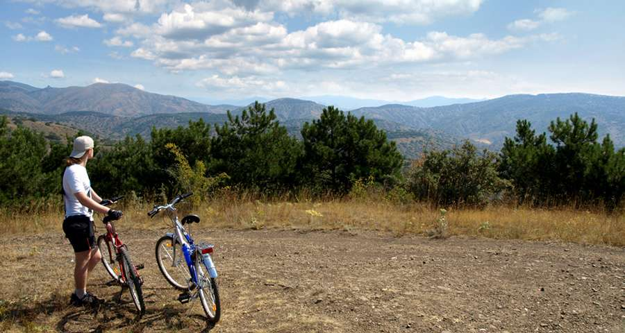 Bicycle tour in the Carpathians