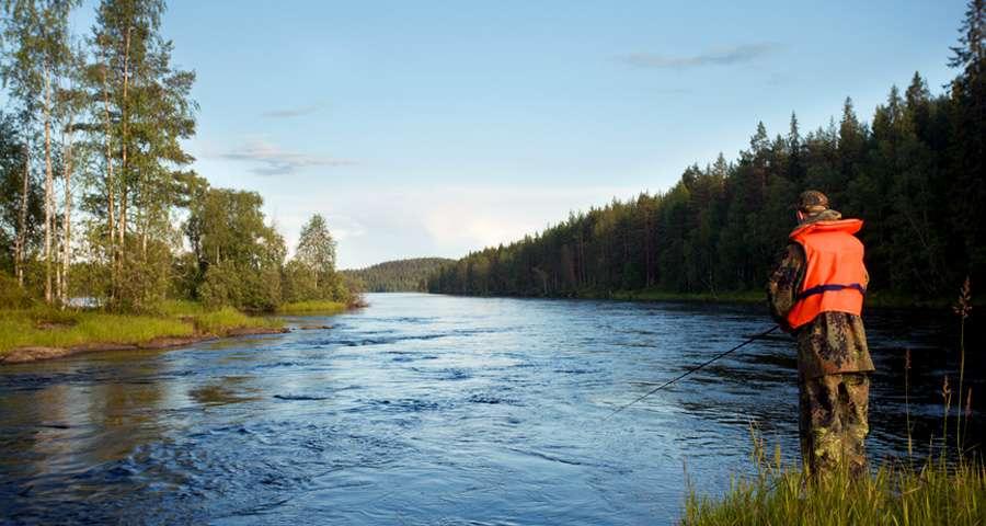 Carpathians, fishing