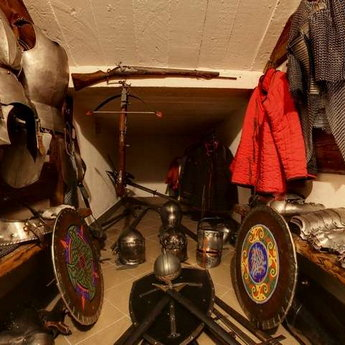 Середньовічна зброярня в готелі Вежа Ведмежа