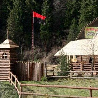 The largest paintball field in the Carpathians Lviv region