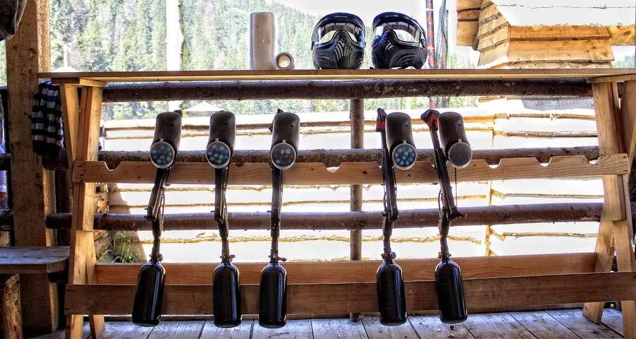 Equipment for paintball, Lviv, Carpathians