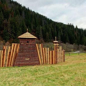 Paintball in autumn Carpathians (Lviv Region, Volosyanka - Slavs'ke)