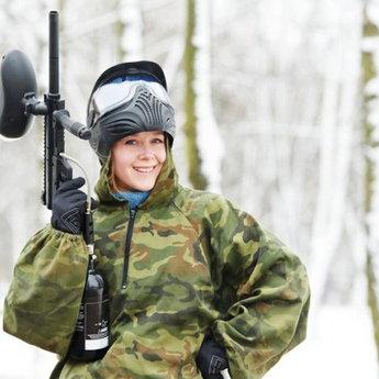 Пейнтбольний майданчик в Україні, зимові ігри