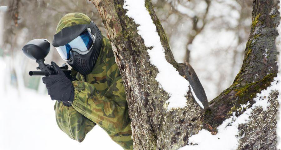 Winter Games paintball Carpathians