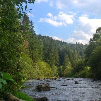 Річка Славка, Карпати - Волосянка