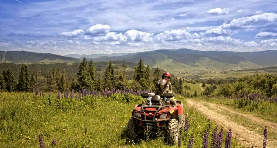 Journey to the Carpathians on ATV