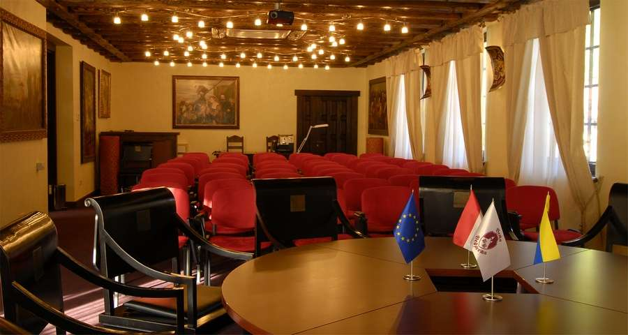 Conference room in the Carpathians, Vezha Vedmezha Hotel