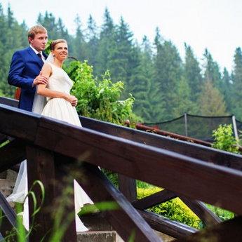 Wedding ceremony in the Carpathians