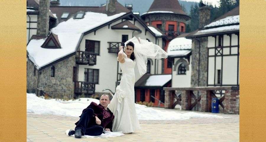 Organizing a wedding in the Carpathians, Vezha Vedmezha Hotel