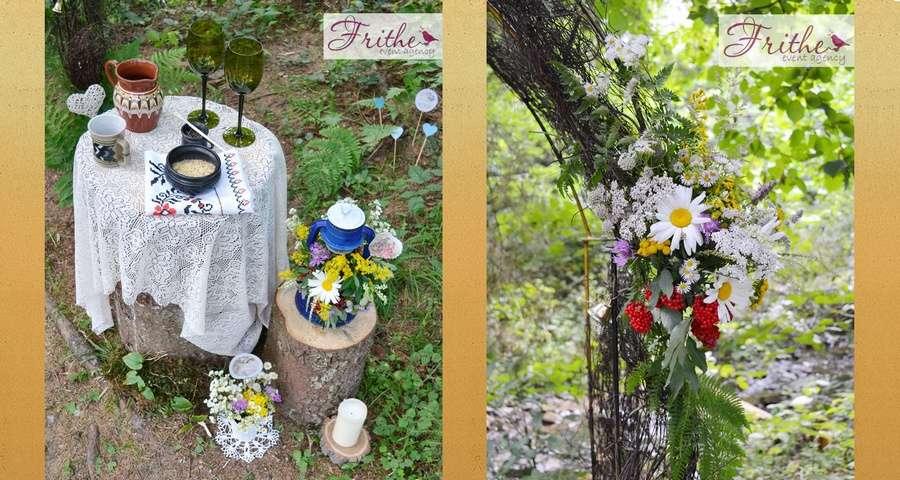 Weddings in the lap of nature, the Carpathians - Slavs'ke - Volosyanka