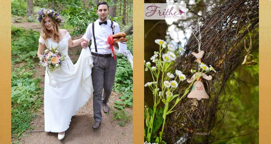 Wedding in the Carpathians in Vezha Vedmezha Hotel