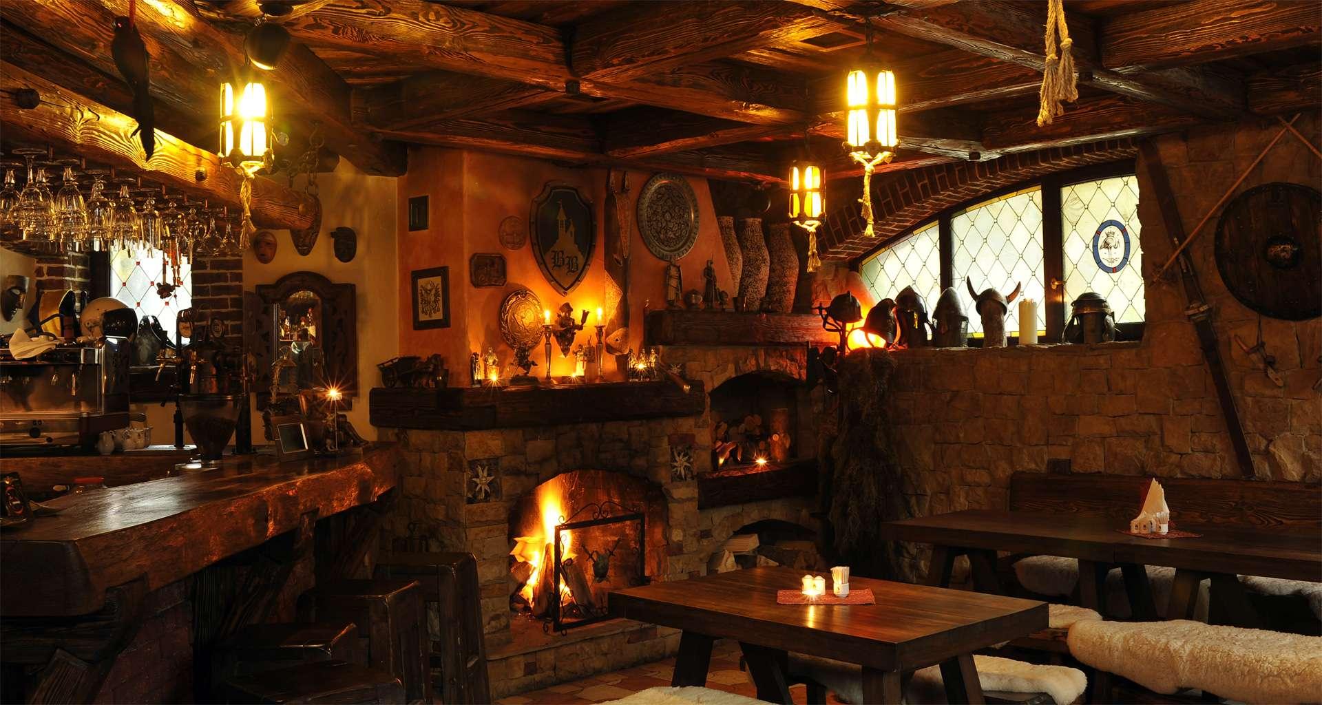 Barloga, a cozy bar in the Carpathians