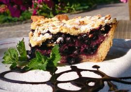 Чорничний пиріг