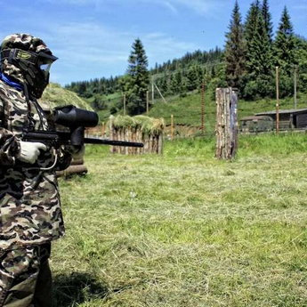 The largest paintball field in the Carpathians